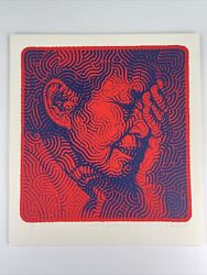 El Mac Winter In America Rare Blue/red Signed Numbered Limited Edition Art Print