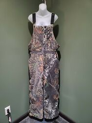 Russell Outdoors Hunting Flintlock Overall Bibandnbspinsulated Mossy Oak Large Used