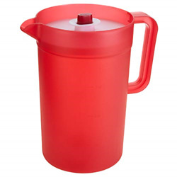 Goodcook 1 Gallon Plastic Pitcher With Vacuum Suction Seal Lid Juice Water