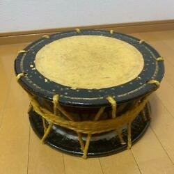 Taiko Small High-pitched Japanese Drum Traditional Music Instrument Length 34cm