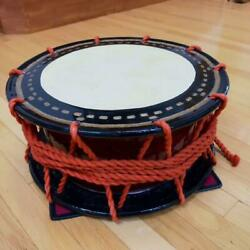 Taiko Japanese Drum Traditional Music Instrument With Stand Bag Bachi Stick