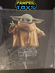 In Stock Hot Toys Lms013 The Child Life Size Unopened Mandalorian Star Wars