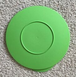 Tupperware Impressions 10 Round Lime Green Replacement Lid - 3092c