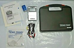 Tens 7000 Digital Muscle Stimulator Nerve Pain Therapy