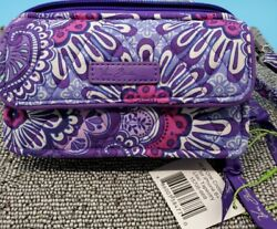 VERA BRADLEY All in One Crossbody for iPhone 6 Lila. Tapestry NWT C13 $30.00