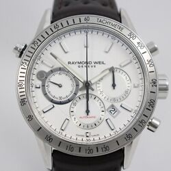 Raymond Weil Freelancer Chronograph Menand039s 7740 From Japan N0223