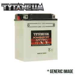 Conventional Flooded Battery For Ducati Ss Kick-starter 1981 With Acid Pack