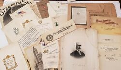 Antique Ephemera Collection Vol. 2 From The Early 1900's