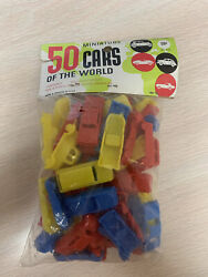 1967 Multiple Toymakers Miniature 50 Cars Of The World Playset Vintage