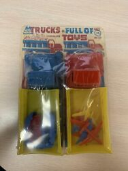 Multiple Toymakers Trucks Full Of Toys Cars Planes Unbreakable Vintage No. 609