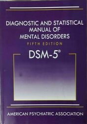 Diagnostic And Statistical Manual Of Mental Disorders 5th Ed. Dsm-5 Hardcover