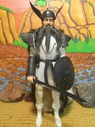 Custom Viking Warrior From The Johnny West Collection By Marx,1/6th Scale 3