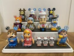 """Disney Vinylmations - Nursery Rhymes Set With Chaser 3"""" 3 Blind Mice Lot Of 12"""
