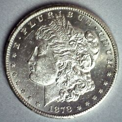 1878 Cc Morgan Silver Dollar Coin 1 Us Type Coin Pl Proof Like One Dollar
