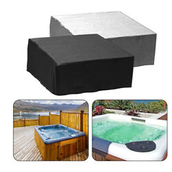 S-3xl Waterproof Spa Cover Hot Tub Cover Guard Cap Dust Bathtub Protector Covers