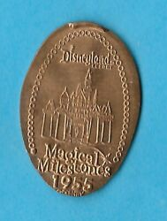 Disney 1955 Disneyland Opening Day 50th Anniversry Pressed Copper Retired Penny