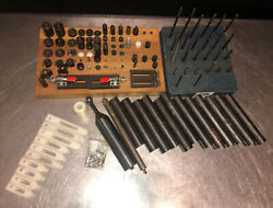 Te-co Tooling Component Lot. You Get Everything You See Pictured