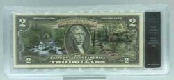 Smoky Mountains National Park 2 Note, Authenticated Uncirculated