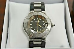 Watch 2427 Autoscaph 21 Automatic Mens 37mm Swiss Made
