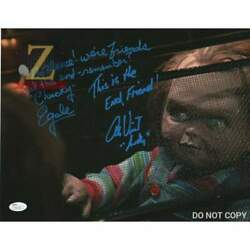 Alex Vincent And Ed Gale Childs Play Signed 11x14 Autograph Photo Chucky Rare