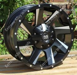 Alloy Wheels 20 Rx100 For Ford Ranger + Wildtrak Pick Up 6x139 4x4