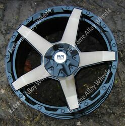 Alloy Wheels 20 Rx700 For Ford Ranger + Wildtrak Pick Up 6x139 4x4