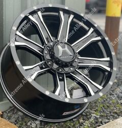 Alloy Wheels 20 Strike For Hummer H3 H3x H3t 3.5 V6 6x139 4x4