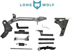 Glock 19 Lower Parts Kit Lone Wolf Lwd Complete Compact Kit Fits G19 G23