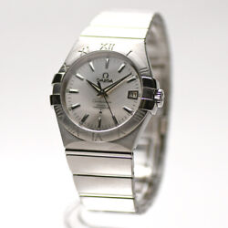Omega Constellation Co-axial Chronometer 123.10.35.20.02.001 Menand039s Watch [u0227]