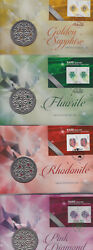 2017 Australia Melbourne Stamp Show - Pnc Medallion Rare Beauties Full Set Of 4