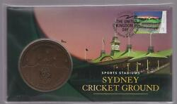 2019 Australia Sydney Stamp And Coin Expo - Pnc Medallion Cricket Ground Scg Day 2