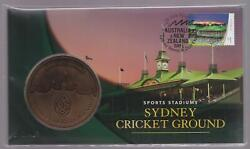 2019 Australia Sydney Stamp And Coin Expo - Pnc Medallion Cricket Ground Scg Day 4