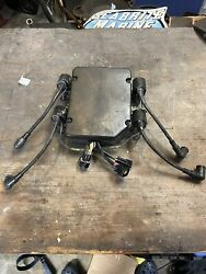 Yamaha Outboard V4 115 130 Cdi Unit Ignition Computer With Coils Wires 2 Stroke