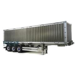 Hercules 1/14 Metal 40ft Chassis Container Rc Tractor Truck Semi-trailer Model