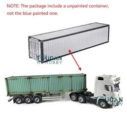1/14 Hercules Benz Rc Tractor Truck Container 40ft Metal Chassis Semi-trailer