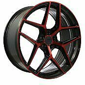 22x8.5 22x10 5-114.30 Str908 Staggered Magic Red Made For Honda Accord