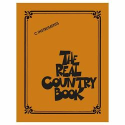 Hal Leonard Real Book Series The Real Country Book C Instruments