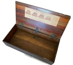 Vintage Ferry-morse Seed Box General Store Display