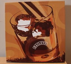 Baileys Canvas Sign Print On Canvas 18x 18x 2 Used Great Condition