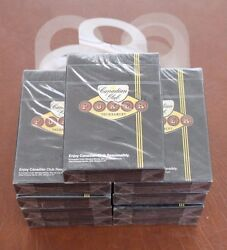 Canadian Club Whisky Playing Cards 9 Decks/packs New In Wrapper Hanger