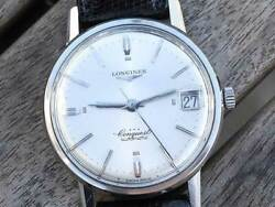 Longines Conquest Ref.9024-5 Vintage Cal.291 Ss Automatic Mens Watch Auth Works