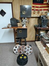 Vintage 35mm Movie Projector Powers 6b Cameragraph Old Theater Silent Film 1906