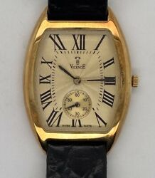 Vicence Milor Watch 14k Yellow Gold Watch