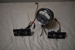 3 Synchronism Indicator Gauge And Trim Switches For Dual Engine Marine Boat