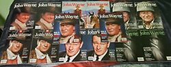 Lot Of 12 John Wayne 2014 2015 The Official Collector's Edition And Tv Magazine