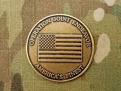 Rare, Delta ,cag ,sfor, Special Forces Task For Eagle , Bosnia Challenge Coin