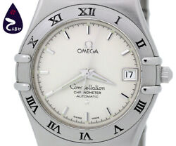 Omega Constellation 1502.30 Self-winding Stainless Menand039s Watch From Japan[b0302]
