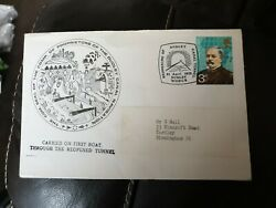 Official Commemorative Cover 1973 Re-opening Of The Dudley Canal Tunnel Catchet