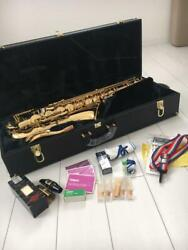 Tenor Saxophones Roxy Antigua Model M90t Color Gold Vintage With Equipment