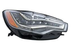 Hella Headlight Led For Audi A6 4g2 4g5 4gh C7 On The Right
